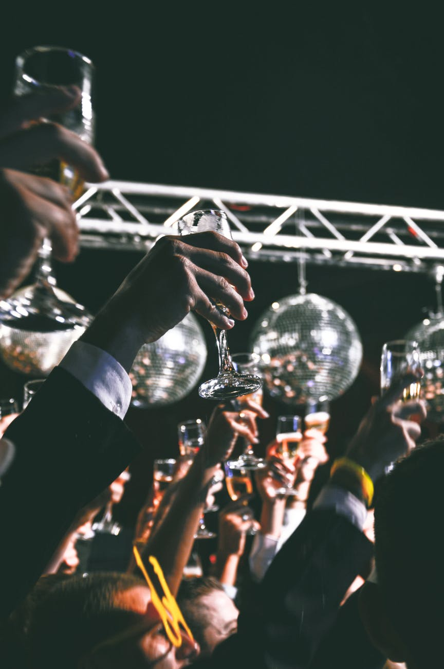 toast party ball cheers